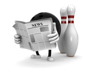 bowling newspaper